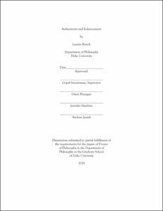 graduate school dissertation